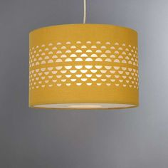 Wide range of Ceiling and Lamp Shades available to buy today at Dunelm, the UK's largest homewares and soft furnishings store. Order now for a fast home delivery or reserve in store. Mustard Bedroom, Mustard Bedding, Yellow Light Shades, Dyi, Retro Bedrooms, Ceiling Lamp Shades, Ceiling Lights, Red Curtains, Bedroom Curtains