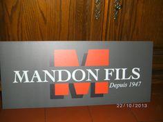Panneau alu-dibond 3mm - Mandon & Fils