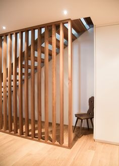 Hunenberg House - The Staircases - In Good Company Loft Room, Good Company, Living Area, Divider, Stairs, Staircases, Projects, House, Furniture