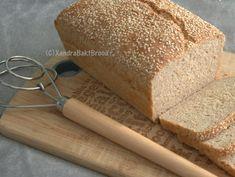 Wheat Bread Recipe, Bread Recipes, Whole Wheat Bread, No Bake Cookies, Bread Baking, Crackers, Oatmeal, Bakery, Oven