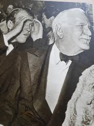James Stewart ogles along with the endearing Frank Morgan at an event Frank Morgan, Statue, Painting, Art, Art Background, Painting Art, Paintings, Kunst, Sculpture