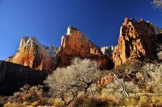 The Three Patriarchs, Zion National Park