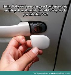 A very useful car trick