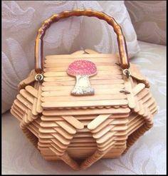 Resultado de imagen para manualidades con abatelenguas de madera PINTEREST