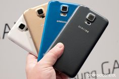 the new Samsung Galaxy S5