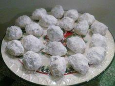Cookies: Snowball Pecan Sandies