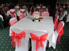 Love Red inspired Wedding Day