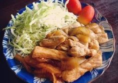 Ginger Pork with Plenty of Onions Recipe by cookpad.japan - Cookpad Ginger Pork, Ginger And Honey, Pork Belly Recipes, Onion Recipes, Home Recipes, Great Recipes, Best Dishes, Pork Loin, Cherry Tomatoes