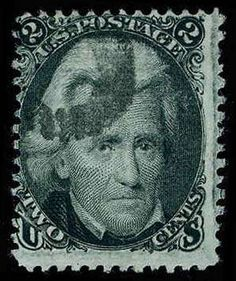 United States 1867 Grill Issue , Scott 84. 2c Black, HC, exceptionally strong color, off-center as virtually all existing examples are, reperfed at T, one SP at T.R., still quite fresh and Very Good appearing example of this exceedingly rare grilled issue, 2000 PSE Catalog value: 4500.00  Lot condition   Dealer Aldrich Auction  Auction Starting Price: 575.00 US$