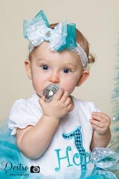 Ice Baby Blue Birthday Tutu Outfit