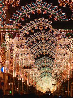 Kobe Luminarie, Japan. Photo by gwaar