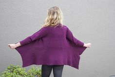Ravelry: Slanted Rib Jacket pattern by Nancy Roberts