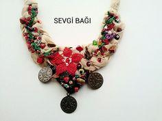 Bodrum kolyem [] # # #Crochet #Necklace, # #Catcher, # #Handmade #Jewelry, # #Necklaces, # #Flowers