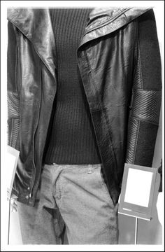 Original products: Jacket made in Italy Sweater designed and made in Venice, own production Trousers made in italy