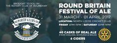 North Leeds Charity Beer Festival 2017 banner Festival 2017, Beer Festival, 2017 Banner, Rotary Club, Juventus Logo, Leeds, Charity