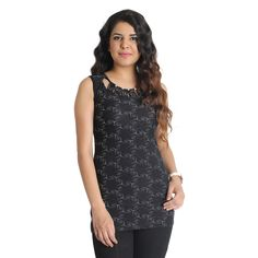 Black Stretchable Top