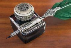 Antique ink quill