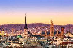 オーストリア、ウィーン歴史地区