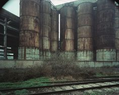 Guido Guidi. Cinque paesaggi, 1983-1993 Photography Sketchbook, Ravenna, Reggio, Luigi, Fine Art, 1990, Industrial Park, Waste Disposal, Rust