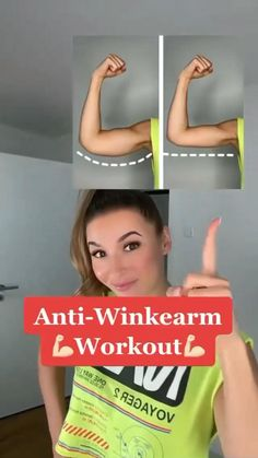 Gym Workout For Beginners, Gym Workout Tips, Fitness Workout For Women, Easy Workouts, Workout Videos, Fitness Tips, Health Fitness, Fitness Goals, Triceps Workout