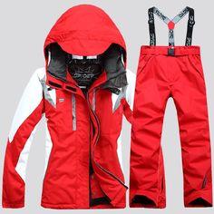 bffd14d015 via Fedex burton snowboard outdoor sport pants men women snow jacket with  pants ski clothes suit