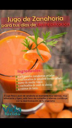 Zanahoria detox