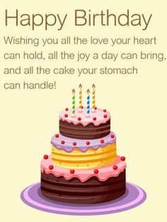 Birthday Wishes Poems Sweet Quotes Happy Friendship Clip