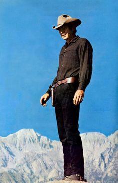 Steve McQueen Nevada Smith gun Rockies