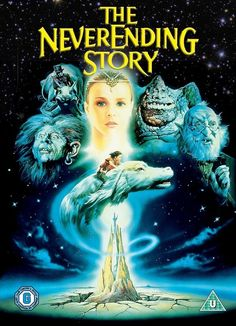 The Never Ending Story! This movie creeped me out as a kiddo, but I couldn't get enough of it! What was it even really about? Was this the movie with Fred Savage & his grandpa Colombo as the narrator?? Maybe I've just repressed these memories of pink flying dog - dragons, rock-eaters, and the Oracle...