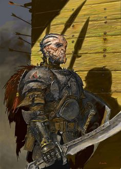 Character Design Adrian Smith Captain Blood