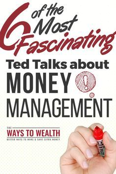 TED talks about money management