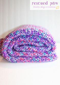 Single Crochet Blanket {FREE PATTERN}