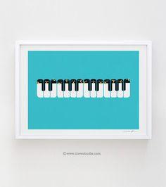 The Choir of Antarctica - art print