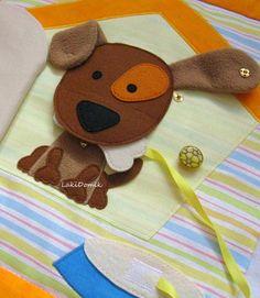 Оранжевый шарик - фетр, фурнитура, работы детям