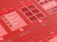 Wireframe - TV Shows App