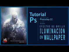 Tutorial Photoshop efectos de brillo e iluminación en un wallpaper by @ildefonsosegura - YouTube