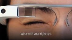 "Google has updated its Google Glass with a feature that allows users to take a photo with a ""wink of the eye""  The feature is faster than ..."
