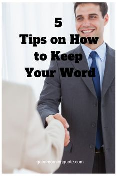 We have created this amazing list with five excellent tips on how to keep your word. If you're looking for tips on keeping your word, this list is perfect. Losing People, Trust Quotes, Respect Yourself, Do It Anyway, Making Excuses, Take That, Let It Be, You Promised, How To Get Away