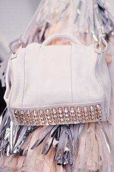 Alexander Wang white Rockie bag