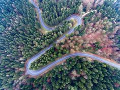 """Heard beat curve - If you like aerial photography, check out my group: https://500px.com/groups/aerial-creativity   This image reminds me on a heard beat curve.  Thank you for viewing my images!  <a href=""""http://chris-herzog.ch"""">Website</a> 