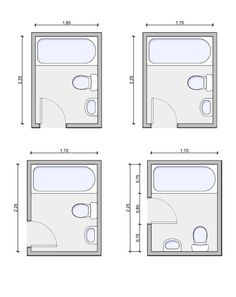 Bathroom Design Layout 5ft x 8ft standard small bathroom floor plan with shower. | small