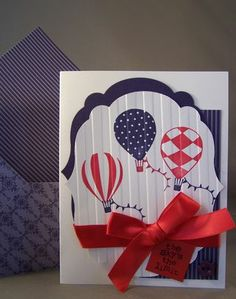 Say Congratulations with a Hand Stamped Card