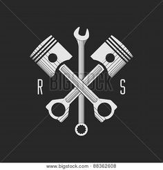 gear and piston vector - Google Search