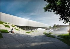 Museum of the 20th Century, Berlin, by 3XN Architects