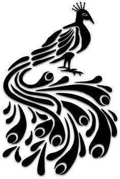 Ideas Bird Silhouette Illustration Art Prints For 2019 Bird Silhouette Art, Silhouette Design, Stencil Art, Stencil Designs, Stenciling, 3d Pencil Drawings, Art Drawings, Fabric Painting, Art Logo