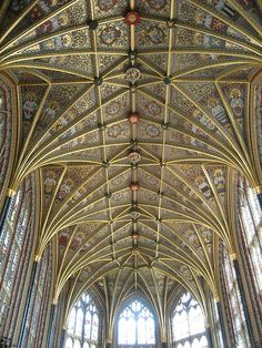 St. George's chapel Windsor ceiling