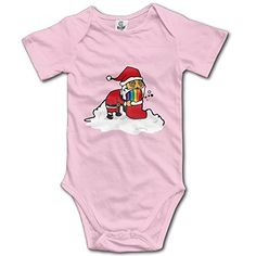 Newborn Christmas Cat Short Sleeve Babysuit Baby Onesie For Boy Girl Newborn Christmas, Christmas Cats, Cat Gym, Baby Onesie, Gymboree, 12 Months, Pink Girl, Bodysuit, Boys