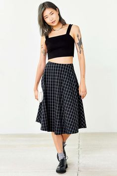 Silence + Noise Alba Cropped Top - Urban Outfitters