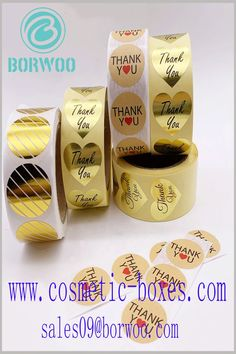 Customizable label wholesale. Choose different label materials, such as printing on gold card paper or kraft paper, to distinguish product differences. Blister Packaging, Perfume Packaging, Bottle Packaging, Print Packaging, Packaging Design, Cosmetic Labels, Cosmetic Box, Cosmetic Packaging, Cardboard Boxes With Lids