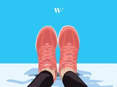 Bunte Sneakerwelt: Stanley Wood´s Sneaker Illustration